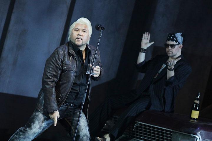 Rigoletto Hyojong Kim, Dominik Nekel © Reinhard Winkler