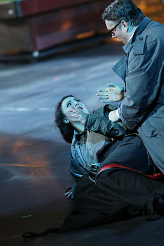 Rigoletto Julia Sitkovetsky, Federico Longhi © Reinhard Winkler