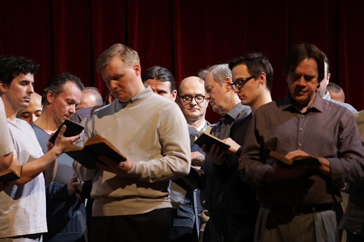 La Damnation de Faust Michael Wagner, Herrenchor © Reinhard Winkler