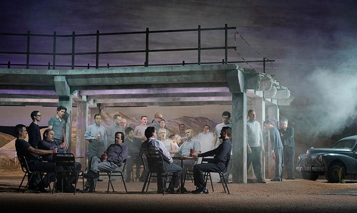 La Damnation de Faust Herrenchor, Dominik Nekel © Reinhard Winkler
