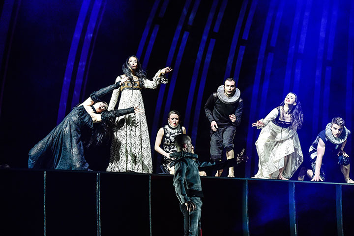 Romeo + Julia Jacqueline Lopez, Andressa Miyazato, Pavel Povrazník, Lorenzo Ruta, Lara Bonnel Almonem, Filip Löbl © Dieter Wuschanski