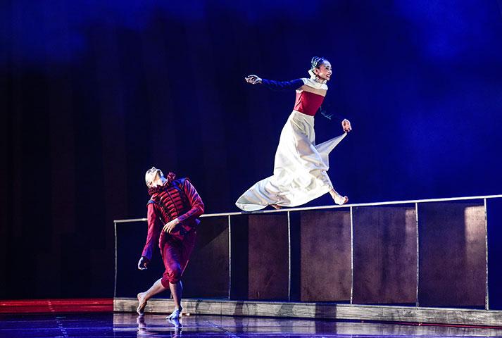 Romeo + Julia Urko Fernandez Marzana, Rie Akiyama © Dieter Wuschanski
