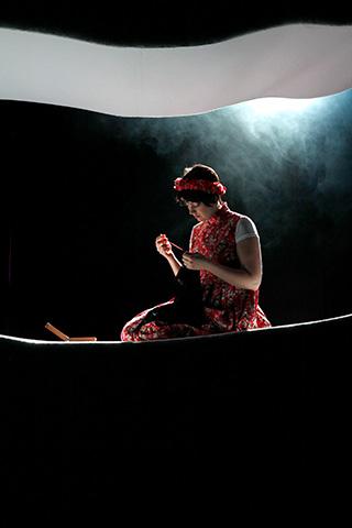 Unverhofftes Wiedersehen Julia Grüter © Yasmina Haddad