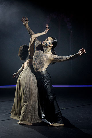 Tod und das Mädchen Mireia González Fernández, Yu-Teng Huang © Tom Mesic