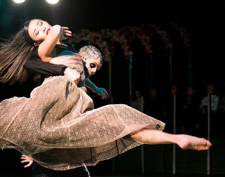 Tod und das Mädchen Rie Akiyama, Urko Fernandez Marzana © Tom Mesic
