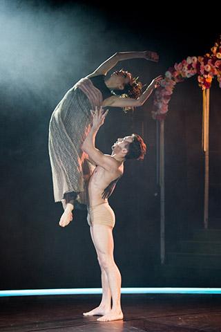 Tod und das Mädchen Lara Bonnel Almonem, Edward Nunes © Tom Mesic