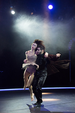 Tod und das Mädchen Kayla May Corbin, Valerio Iurato © Tom Mesic