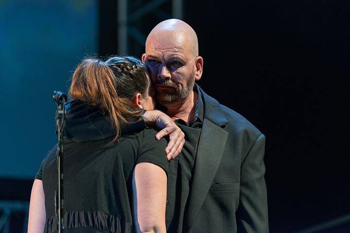 Antigone Angela Waidmann, Klaus Müller-Beck © Petra Moser