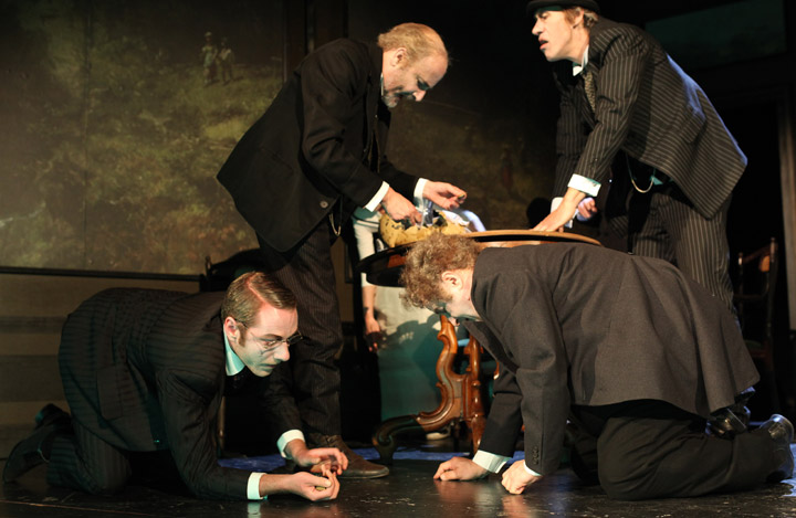 Das Sparschwein  Alexander Julian Meile, Sebastian Hufschmidt, Vasilij Sotke, Horst Heiss © Christian Brachwitz