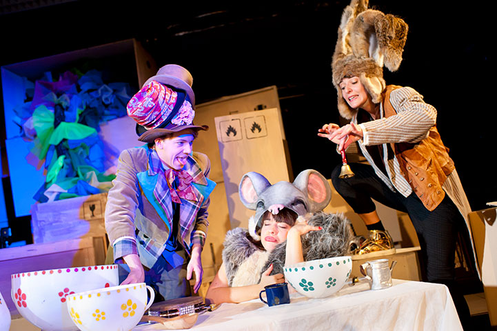 Wunderland! Steven Cloos, Anna Katharina Fleck, Karina Pele © Hermann Posch