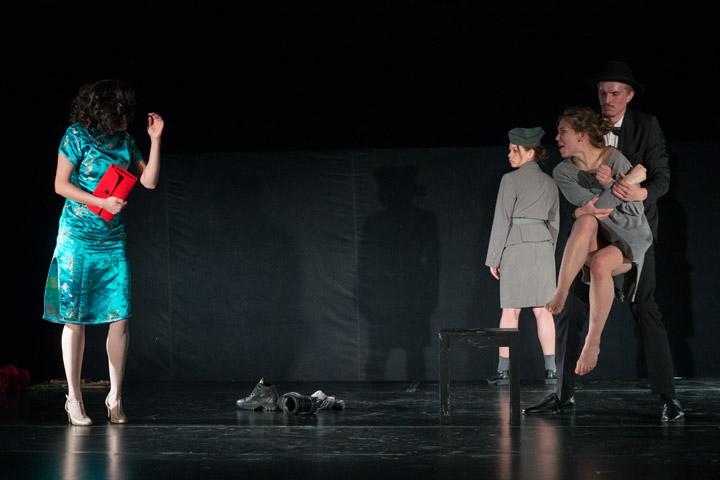 Musik Johanna Malecki, Emilie Haus, Christina Polzer, Simon Kirschner © Petra Moser