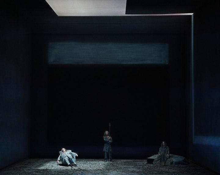Tristan und Isolde Heiko Börner, Martin Achrainer, Mathias Frey © Reinhard Winkler