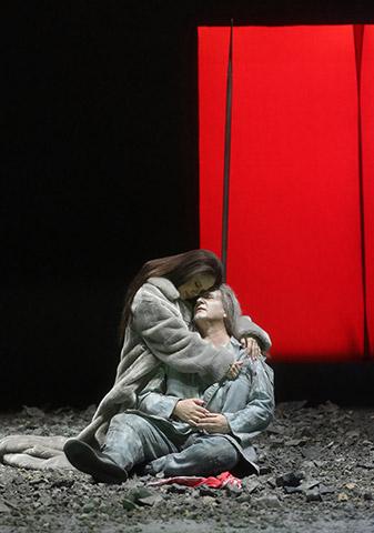Tristan und Isolde Annemarie Kremer, Heiko Börner © Reinhard Winkler