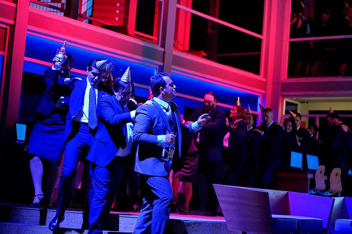 Médée  Matjaž Stopinšek, Chor Landestheater Linz © Reinhard Winkler