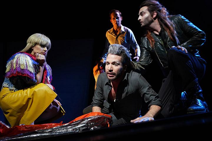 Lazarus  Ariana Schirasi-Fard, Riccardo Greco, Christof Messner, Carsten Lepper © Reinhard Winkler