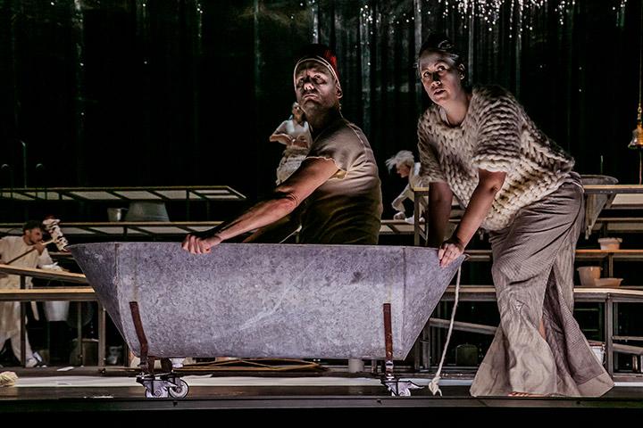 Die Verfolgung und Ermordung Jean Paul Marats Alexander Hetterle, Angela Waidmann © Jochen Quast