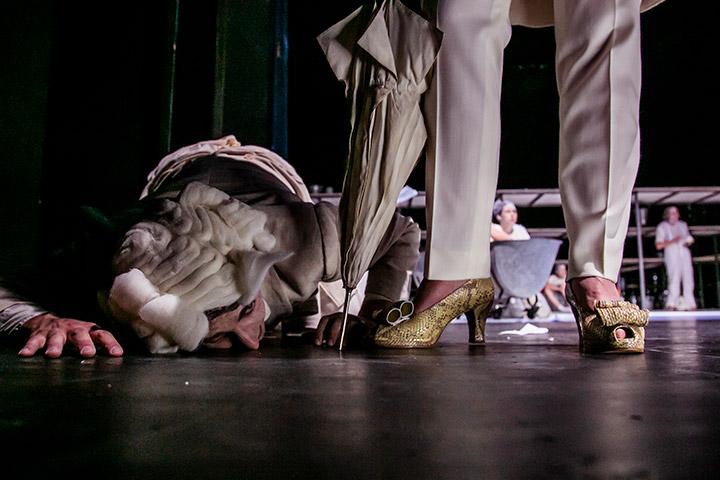 Die Verfolgung und Ermordung Jean Paul Marats © Jochen Quast