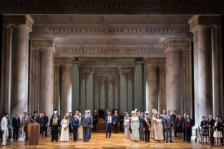 La clemenza di Tito  Ensemble © Sakher Almonem