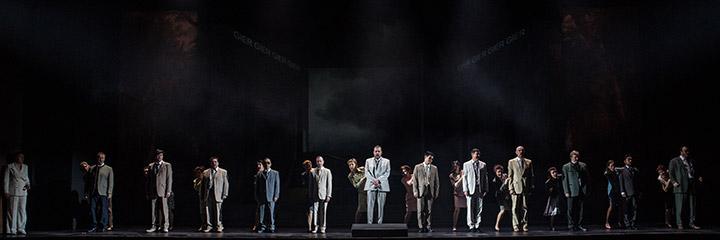 Der Vogelhändler  Chor Landestheater Linz © Sakher Almonem