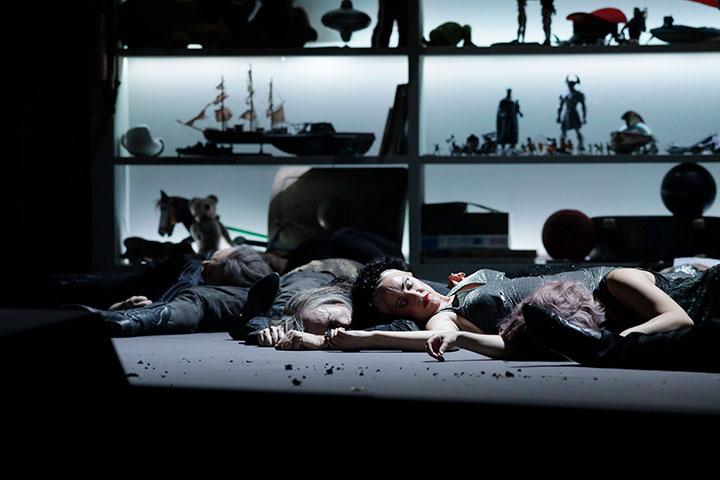 Elektra Chor Landestheater Linz © Reinhard Winkler