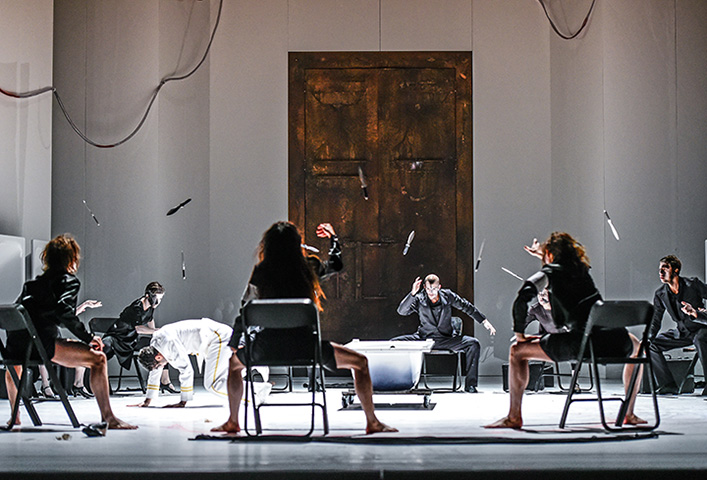 Macbeth  Ensemble © Dieter Wuschanski