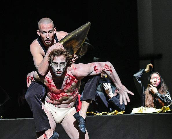 Macbeth  Pavel Povrazník, Edward Nunes, Rutsuki Kanazawa © Dieter Wuschanski