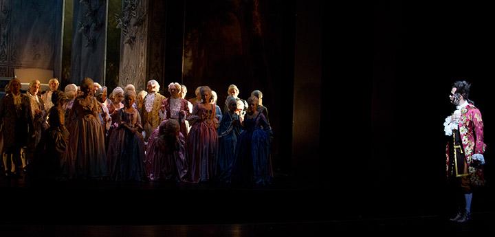 Der Vogelhändler Chor Landestheater Linz, Michael Wagner © Sakher Almonem