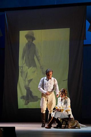 Die Entführung aus dem Serail  Hans Schöpflin, Brigitte Geller © Reinhard Winkler