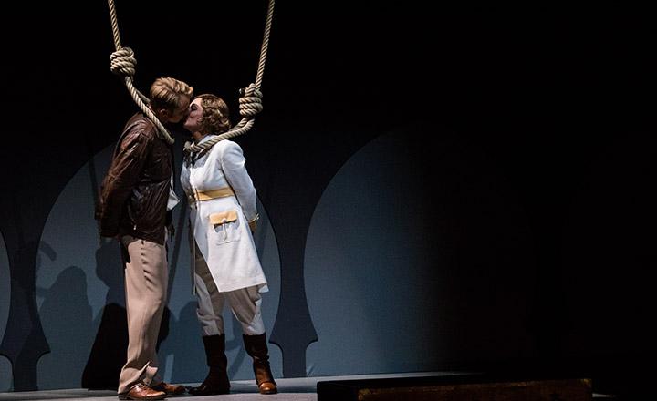 Die Entführung aus dem Serail  Mathias Frey, Brigitte Geller © Sakher Almonem
