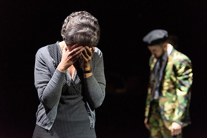 The Rape Of Lucretia Sinja Maschke, Philipp Kranjc © Petra Moser