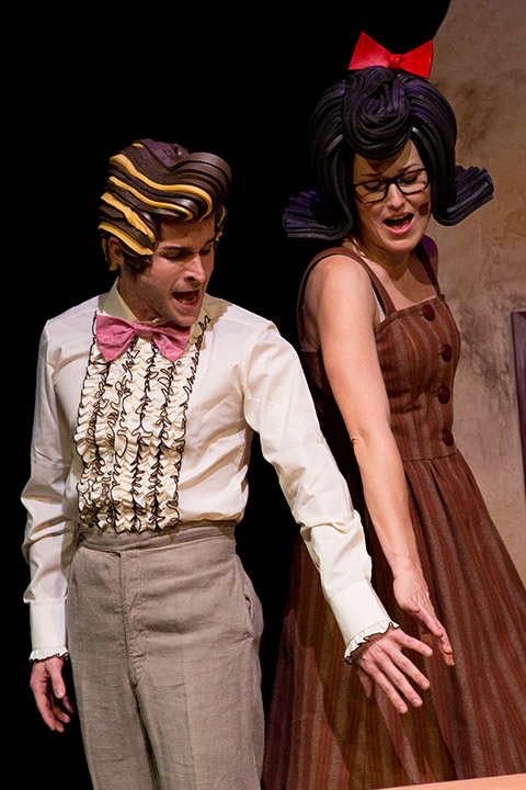 Mary und Max Gernot Romic (Damian), Sanne Mieloo (Mary) © Sakher Almonem