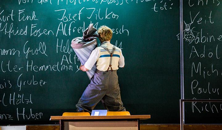 Die Schule oder das Alphabet der Welt Jakob Kajetan Hofbauer © Sakher Almonem