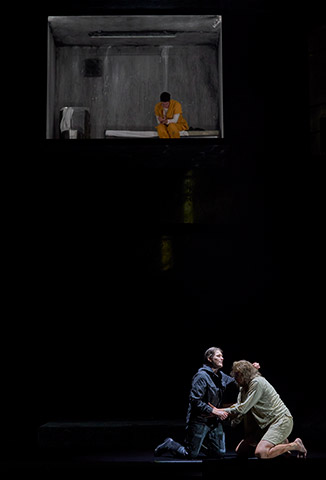 Fidelio | Twice through the heart Erica Eloff, Marco Jentzsch, Katherine Lerner © Herwig Prammer
