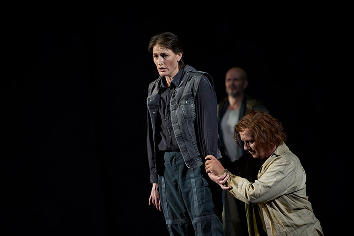 Fidelio | Twice through the heart Erica Eloff, Matjaz Stopinsek, Michael Wagner © Herwig Prammer