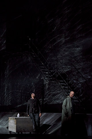 Fidelio | Twice through the heart Erica Eloff, Michael Wagner © Herwig Prammer
