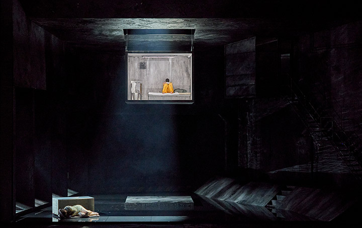 Fidelio | Twice through the heart Marco Jentzsch, Katherine Lerner © Herwig Prammer