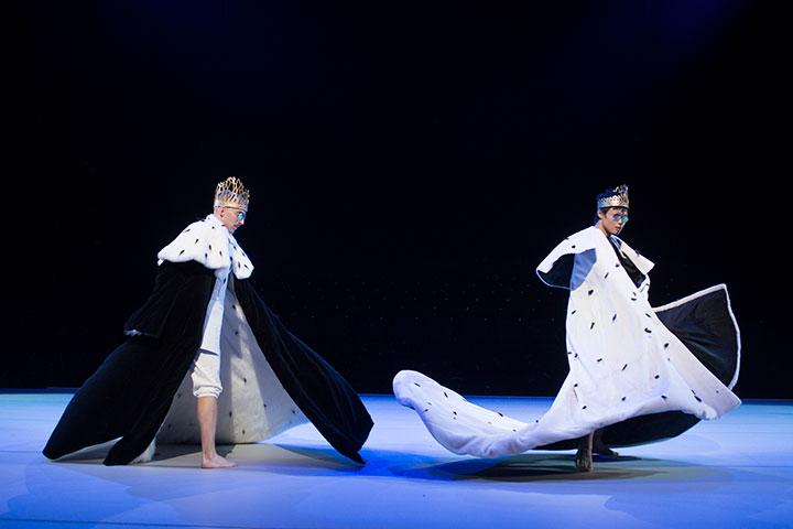 Bilder einer Ausstellung  Pavel Povrazník, Yu-Teng Huang © Laurent Ziegler