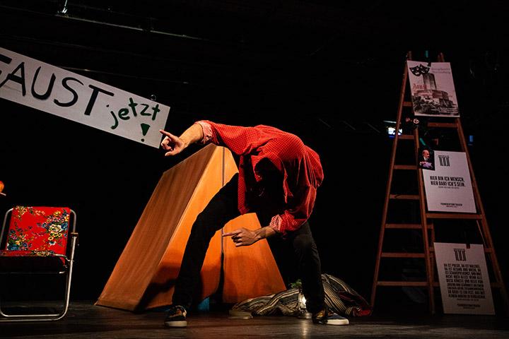 Junger Klassiker - Faust Short Cuts  Friedrich Eidenberger © Philip Brunnader