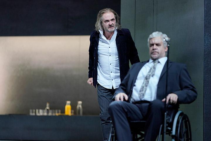 I Capuleti e i Montecchi  Michael Wagner, Dominik Nekel © Reinhard Winkler