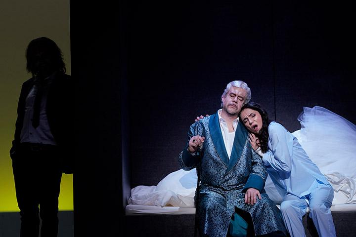 I Capuleti e i Montecchi  Michael Wagner, Dominik Nekel, Ilona Revolskaya © Reinhard Winkler