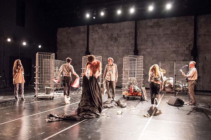 Bürgerliches Trauerspiel  Ensemble © Stefan Hauer
