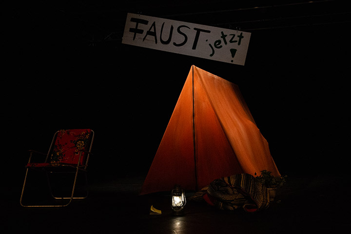 Netzbühne: Faust Shortcuts © Philip Brunnader