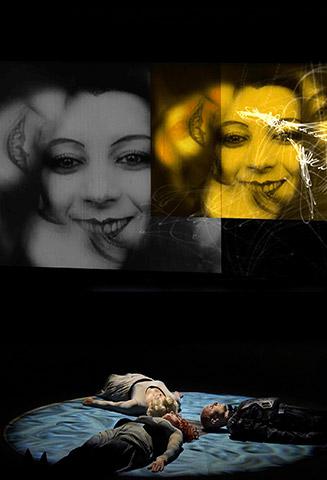 Lachesis  Christa Ratzenböck, Gotho Griesmeier, Michael Wagner © Herwig Prammer