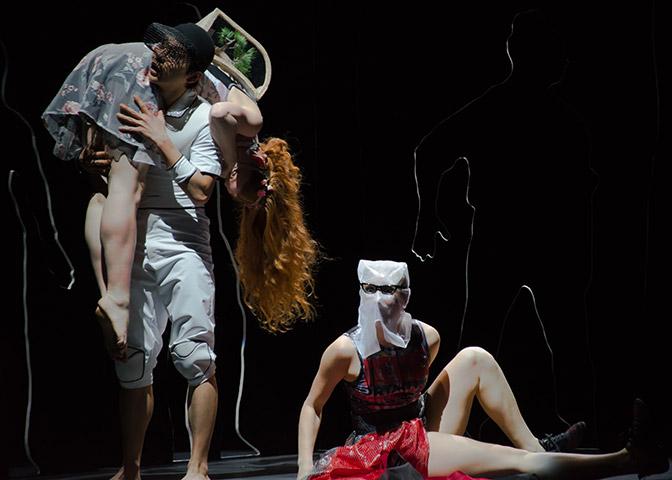 Liebesbriefe Evi Van Wieren, Shao Yang Hsieh, Nicole Stroh © Vincenzo Laera