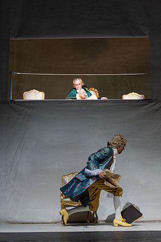 Amadeus  Sebastian Hufschmidt, Daniel Klausner © Petra Moser