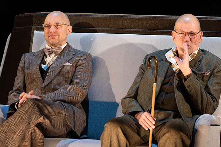 Alte Meister  Christian Taubenheim, Klaus Müller-Beck © Petra Moser