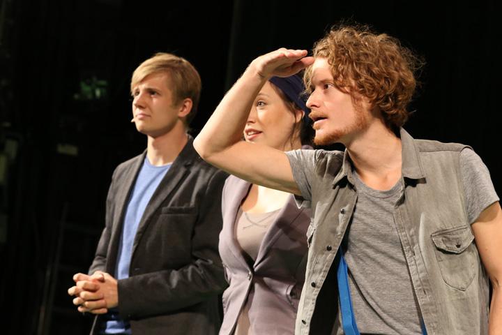 Theatersport Markus Pendzialek, Angela Šmigoc, Wenzel Brücher © Reinhard Winkler