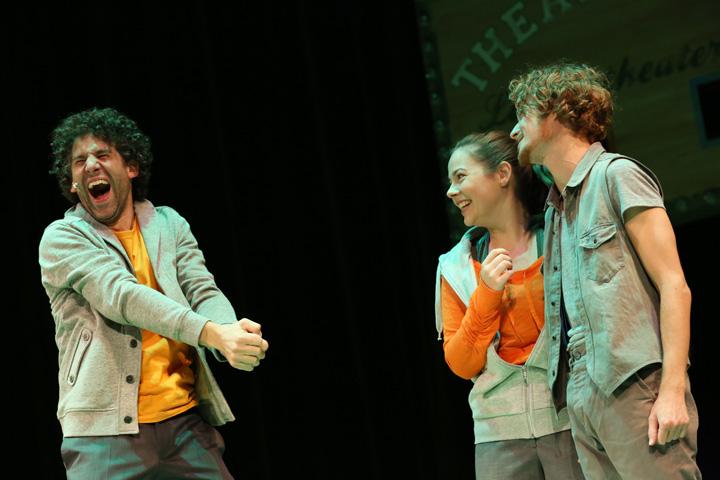 Theatersport Manuel Klein, Katharina Stehr, Wenzel Brücher © Reinhard Winkler