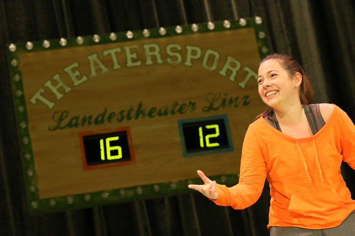 Theatersport Katharina Stehr © Reinhard Winkler